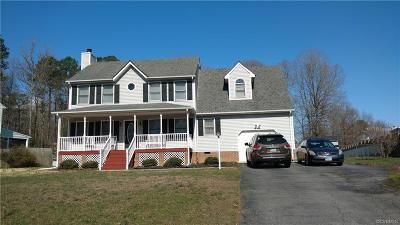 Prince George VA Single Family Home Sold: $193,500