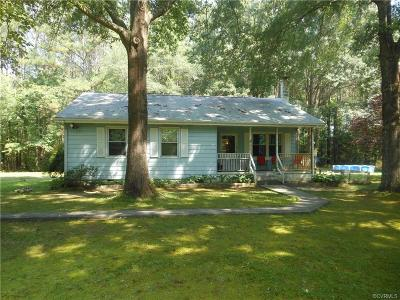 Single Family Home For Sale: 17430 Pole Run Road