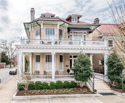 Richmond Single Family Home For Sale: 3101 West Franklin Street