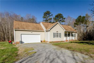 Prince George Single Family Home For Sale: 11927 Old Stage Road