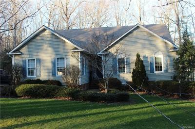 Hanover County Single Family Home For Sale: 14210 Country Club Drive
