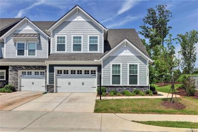 Chesterfield County Condo/Townhouse For Sale: 17725 Wynstone Park Lane #91 N1