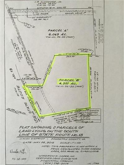 Powhatan VA Residential Lots & Land For Sale: $39,000
