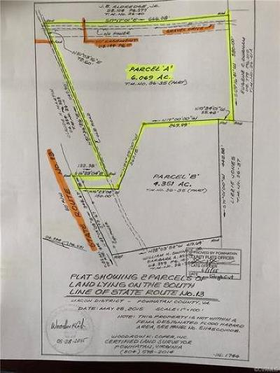 Powhatan Residential Lots & Land For Sale: Old Buckingham Road