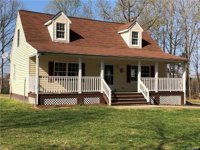 Amelia County Single Family Home For Sale: 9800 Coleman Drive