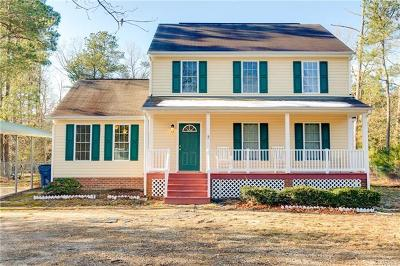 South Chesterfield Single Family Home For Sale: 10431 Chesdin Ridge Drive