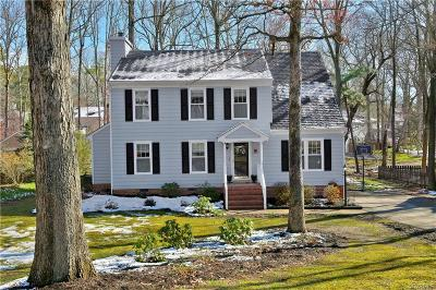 Midlothian Single Family Home For Sale: 5809 Mill Spring Road