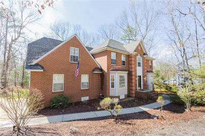 Chesterfield County Single Family Home For Sale: 6921 Apamatica Lane