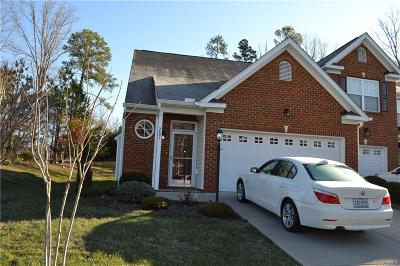 Chesterfield County Condo/Townhouse For Sale: 2401 Silver Lake Terrace