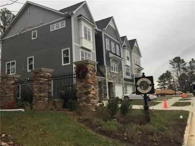 Henrico County Rental For Rent: 11124 Swanee Mill Trace #A3