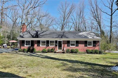Chesterfield County Single Family Home For Sale: 8166 Brown Road
