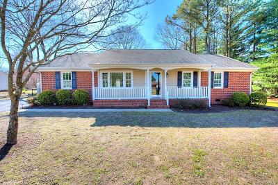 Hanover County Single Family Home For Sale: 6015 Anvil Lane