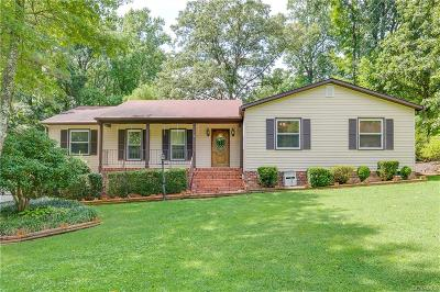 Chesterfield County Single Family Home For Sale: 1410 Elmart Lane