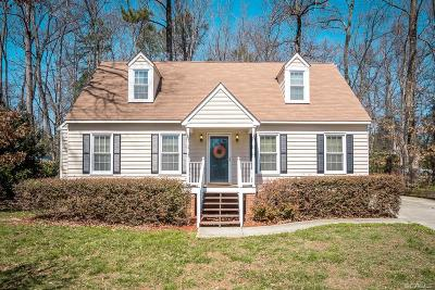 Chesterfield County Single Family Home For Sale: 7260 Full Rack Drive