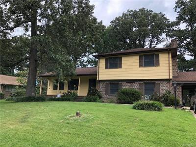 Colonial Heights Single Family Home For Sale: 304 Windmere Drive