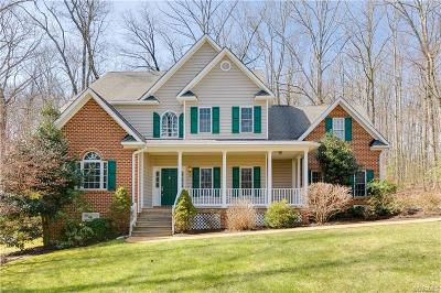 Powhatan Single Family Home For Sale: 1825 High Hill Drive