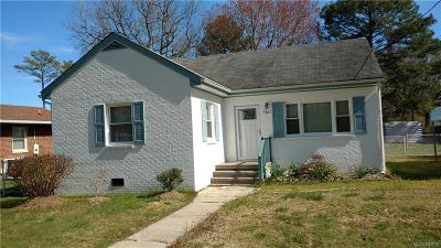 Hopewell VA Single Family Home Sold: $119,000