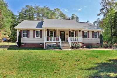 Powhatan Single Family Home For Sale: 890 Clement Town Road