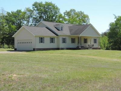 Farmville Single Family Home For Sale: 105 Ligontown Road