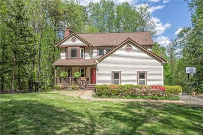 Chesterfield Single Family Home For Sale: 9401 Springhouse Drive