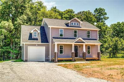 Powhatan County Single Family Home For Sale: 2840 Maidens Road