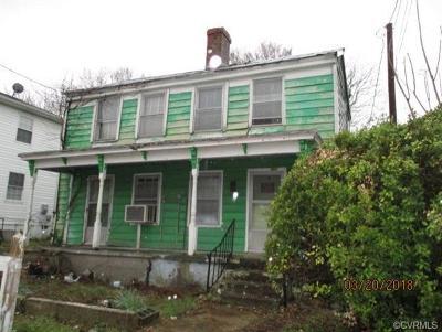 Petersburg Single Family Home For Sale: 510 S Adams Street