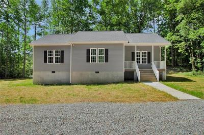 Powhatan Single Family Home For Sale: 2756 Trenholm Road
