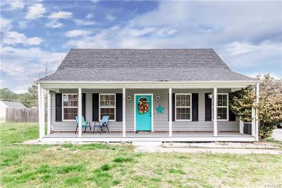 Dinwiddie County Single Family Home For Sale: 24100 River Road