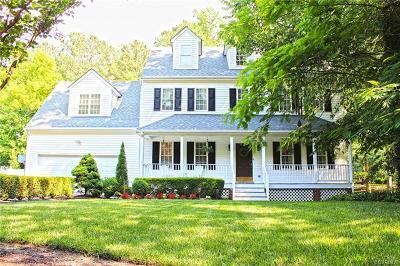 Glen Allen Single Family Home For Sale: 10557 Lambeth Road