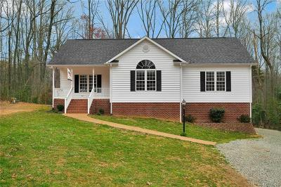 Powhatan Single Family Home For Sale: 2746 Ridgeview Road