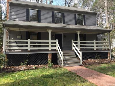 Midlothian Rental For Rent: 3704 Nuttree Woods Drive