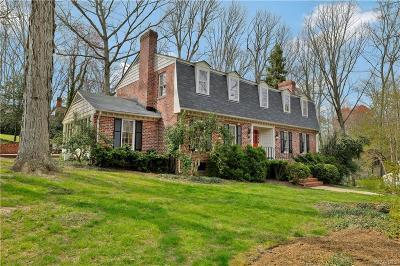 Henrico Single Family Home For Sale: 104 Roslyn Hills Drive