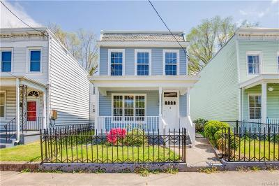 Richmond Single Family Home For Sale: 1219 North 32nd Street