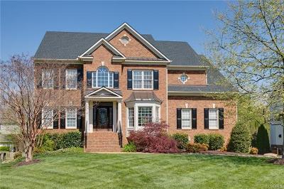 Glen Allen Single Family Home For Sale: 4412 Hickory Lake Court