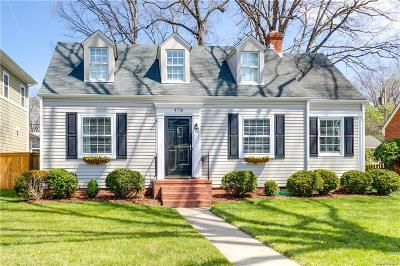 Richmond Single Family Home For Sale: 4718 West Franklin Street