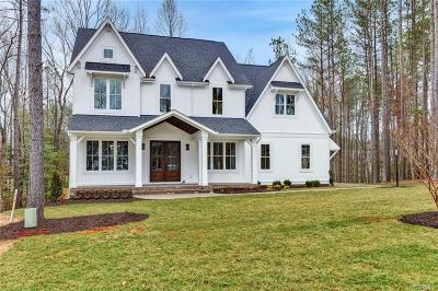 Powhatan County Single Family Home For Sale: 2840 Manahoc Trail