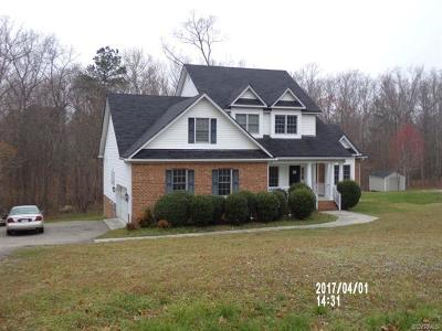 South Chesterfield Single Family Home For Sale: 1624 Clear Springs Lane