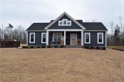 Cumberland County Single Family Home For Sale: Lot B Anderson Hwy Highway