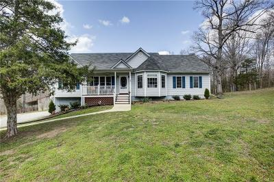 Amelia County Single Family Home For Sale: 12250 Little Patrick Road