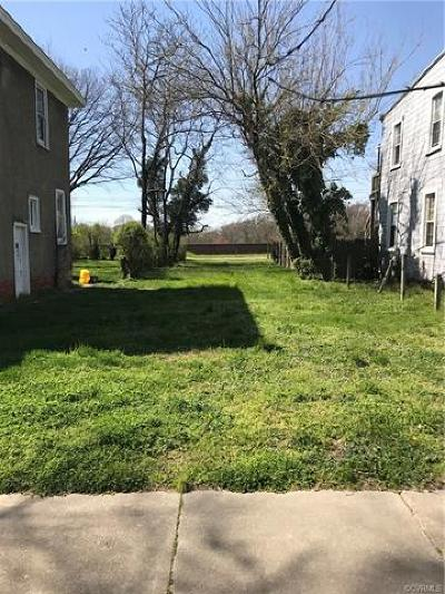 Richmond Residential Lots & Land For Sale: 1810 3rd Avenue