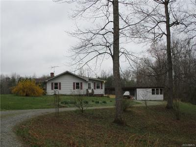 Louisa Single Family Home For Sale: 7228 Courthouse Road