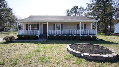 Dinwiddie County Single Family Home For Sale: 4608 Woodstream Drive