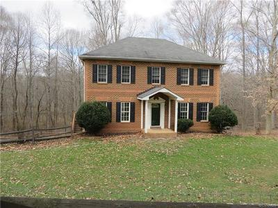 Powhatan County Single Family Home For Sale: 665 Butterwood Terrace