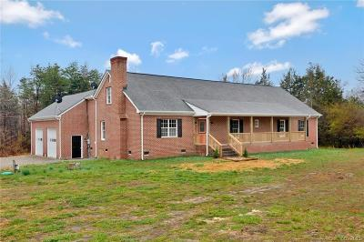 Powhatan VA Single Family Home For Sale: $319,900