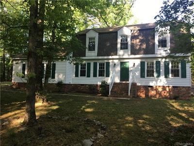 Glen Allen Single Family Home For Sale: 9500 Emmett Road