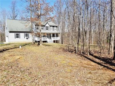 Louisa Single Family Home For Sale: 2226 Waltons Store Road