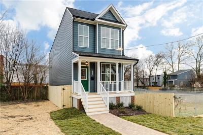 Richmond Single Family Home For Sale: 921 North 33rd Street