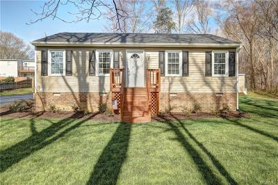 Mechanicsville Single Family Home For Sale: 7411 Shady Grove Road