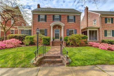 Richmond Single Family Home For Sale: 4209 West Franklin Street