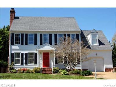 Henrico VA Single Family Home For Sale: $346,500